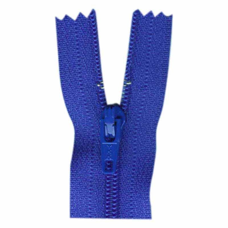 23cm VICTORIAN BLUE ZIPPER