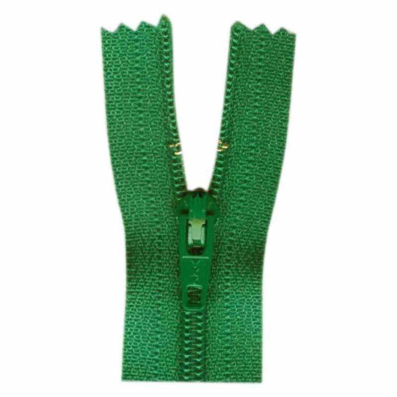 18cm LAKE GREEN ZIPPER