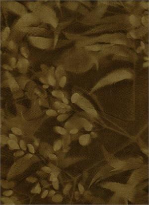 BATIK TEXTILES - BROWN SUN PRINT