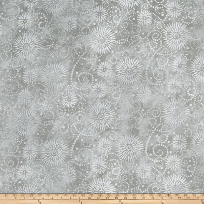 108 FLOWER BURST - GRAY