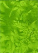 BATIK TEXTILES - GREEN SUN PRINT