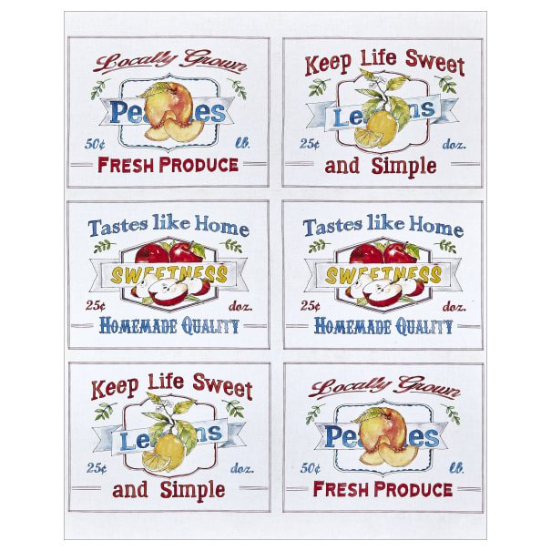 FRUIT STAND - PLACEMATS