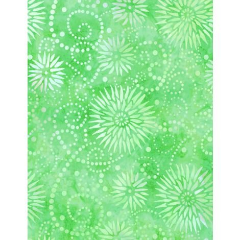 108 FLOWER BURST - GREEN