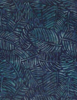 BLUE LEAVES BATIK