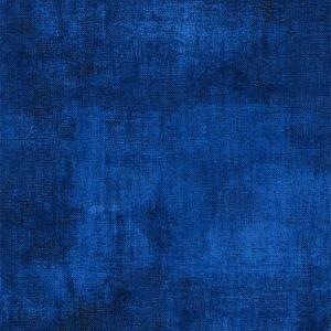 ROYAL BLUE DRYBRUSH FLANNEL