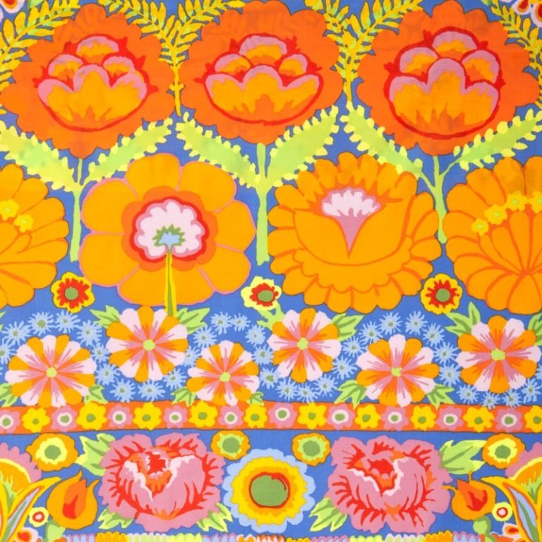 FLOWER BORDER - ORANGE