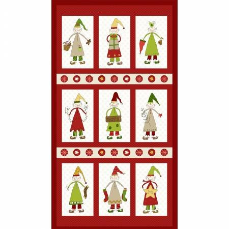 CHRISTMAS ELVES - ELF PANEL