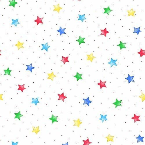 COMFY FLANNEL - MULTI STARS