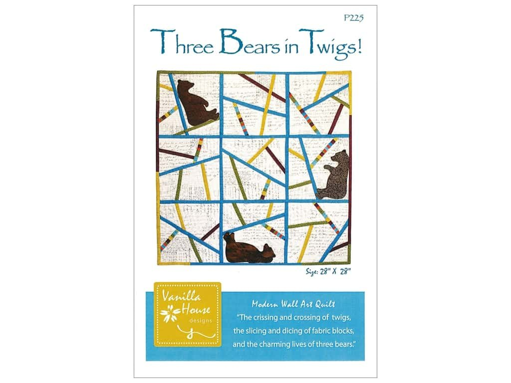 THREE BEARS IN TWIGS