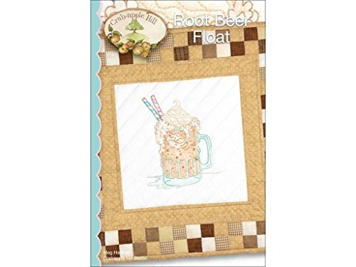 ROOT BEER FLOAT PATTERN - 16.5 x 16.5