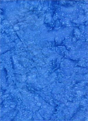 BATIK TEXTILES - BLUE SPLASH