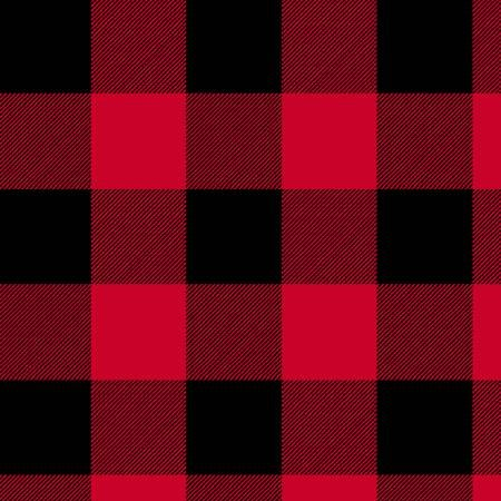 108 RED PLAID
