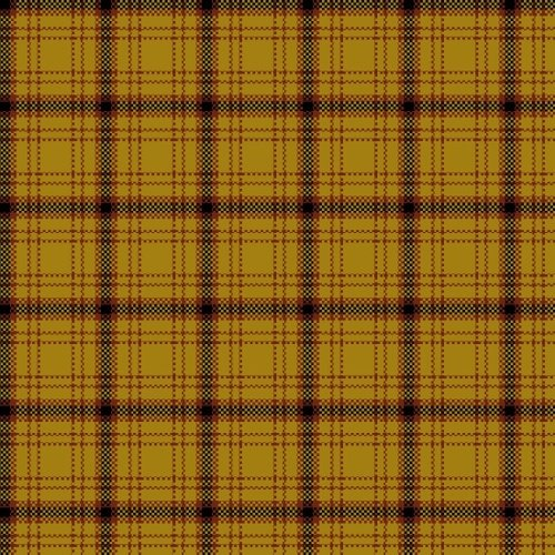 HELPING HANDS - MUSTARD PLAID