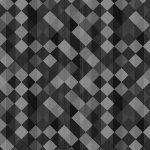 CHERRY POP  GREY / BLACK DIAGONAL CHECK