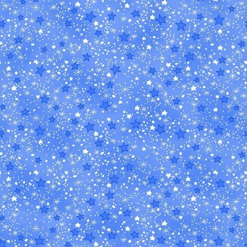 COMFY FLANNEL - BLUE STARS