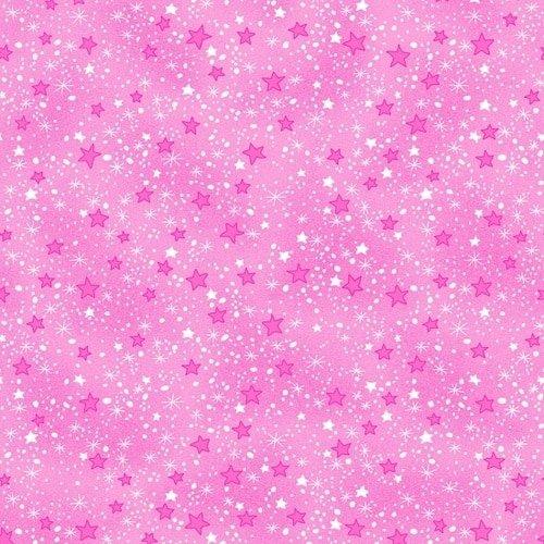 COMFY FLANNEL - PINK STARS