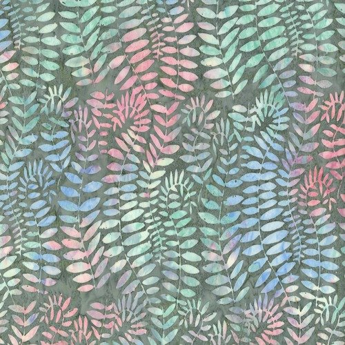 ARTISAN-FRONDS-GREY BATIK