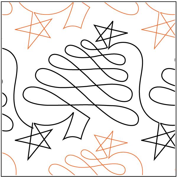 PANTO - CHRISTMAS DOODLE - TREE