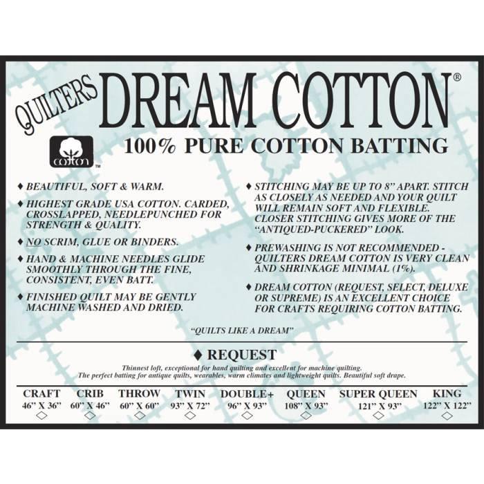 QUILTER'S DREAM COTTON SUPREME - 120
