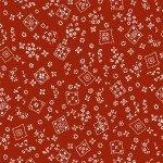 TOSSED BANDANA - RED