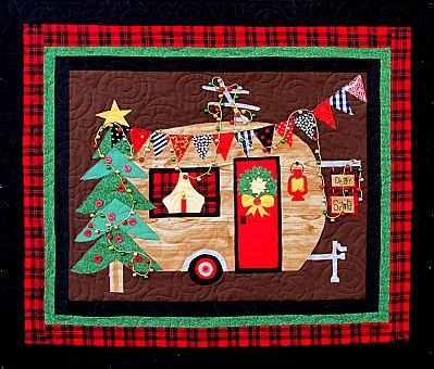 CHRISTMAS CAMPER  27x32