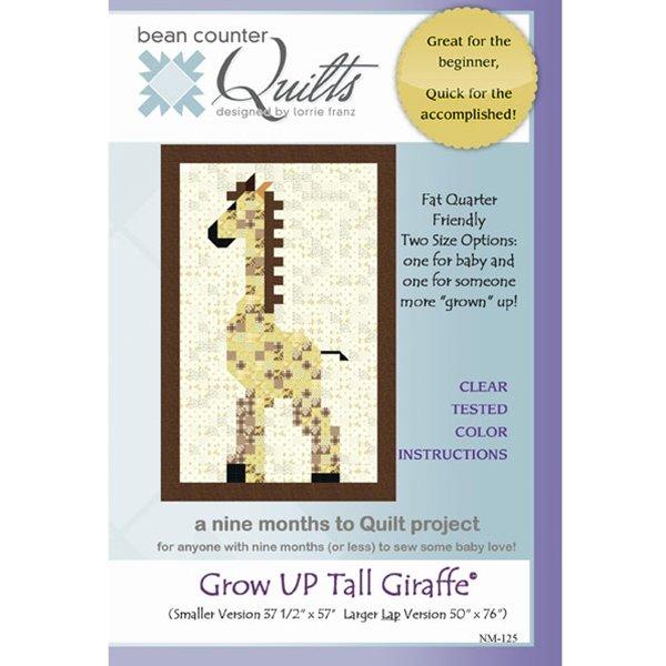 GROW UP TALL GIRAFFE PATTERN