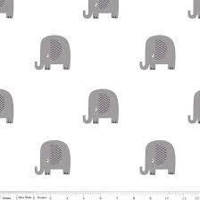 FLANNEL BASIC ELEPHANT