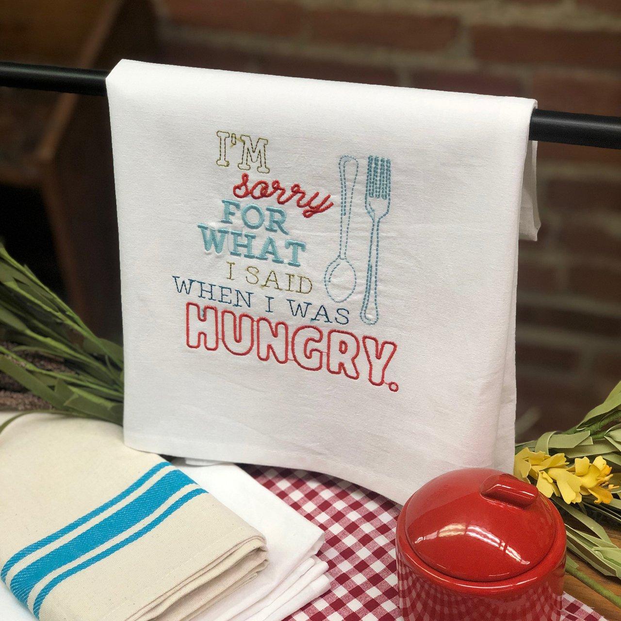 HUNGRY - TEA TOWEL