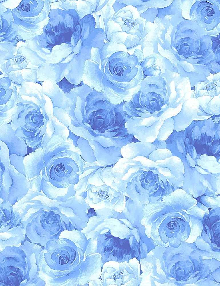 FLEUR - LIGHT BLUE FLOWERS