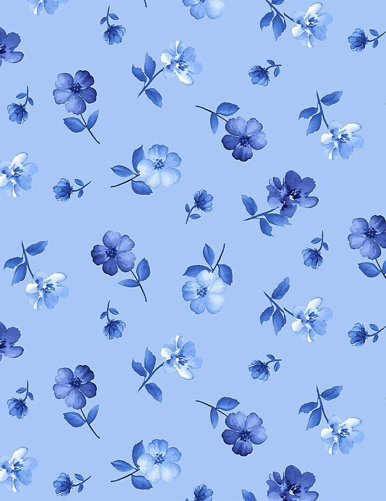 FLEUR - BLUE FLOWERS