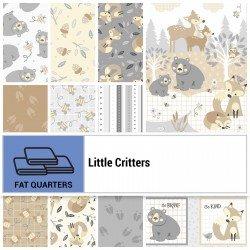 LITTLE CRITTERS  2 PANELS, 10 US FAT 1/4