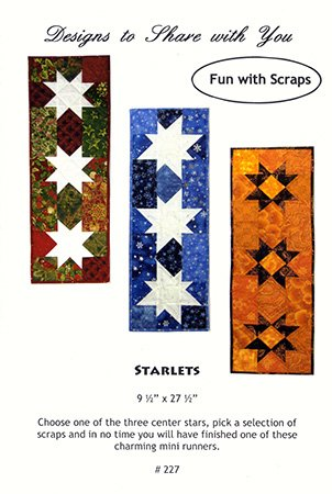 FUN WITH SCRAPS STARLETS