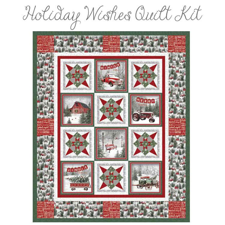 HOLIDAY WISHES - QUILT 1