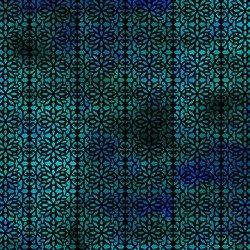 FLORAGRAPHIX V - GREEN/BLUE