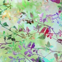 GARDEN OF DREAMS - BIRDS SPRING GREEN