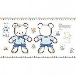 TEDDY'S GREAT ADVENTURE - BEAR PANEL