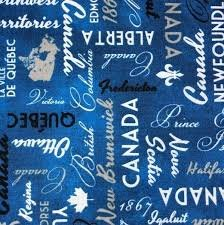 CANADIANISMS - WORDS/BLUE