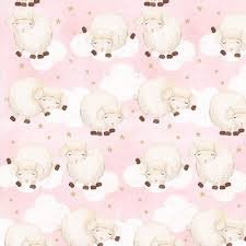 COMFY FLANNEL - SHEEP/PINK