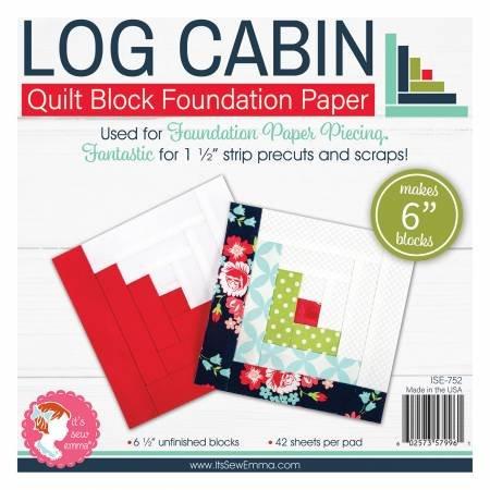 LOG CABIN 6 FOUNDATION PAPER