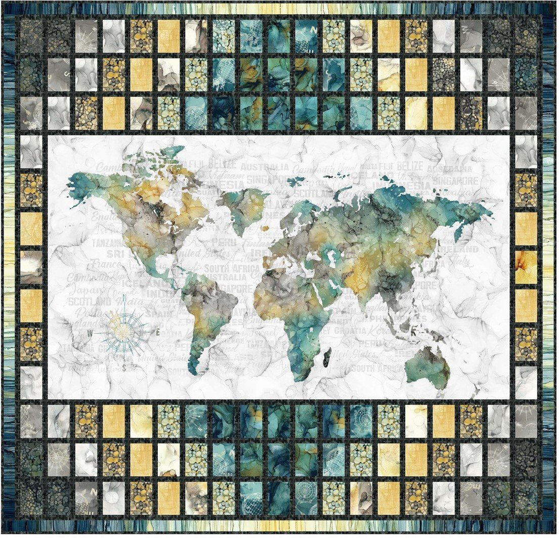 WORLD JOURNEY 50x48