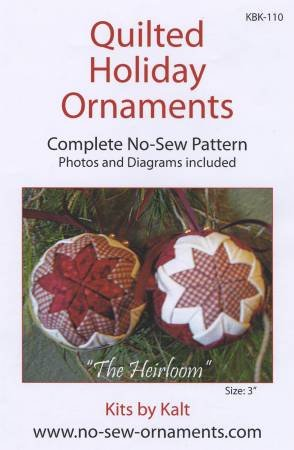 QUILTED HOLIDAY ORNAMENTS