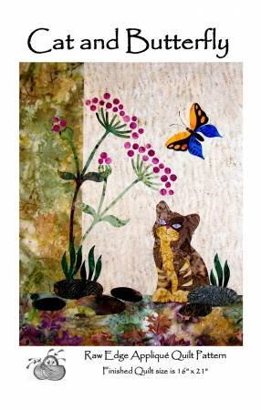 CAT AND BUTTERFLY PATTERN