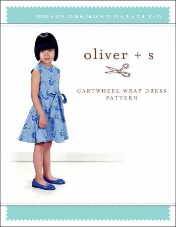 CARTWHEEL WRAP DRESS