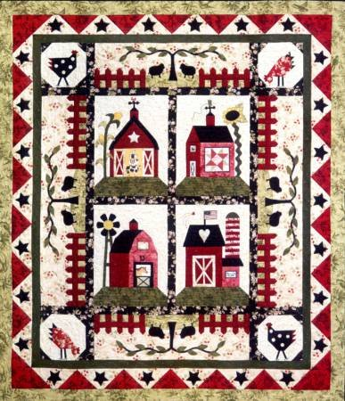 LITTLE RED BARNS PATTERN