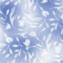 SILVER JUBILEE SOFT FLORAL BLUE