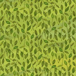 QUILTER'S ROAD TRIP - GREEN LEAVES