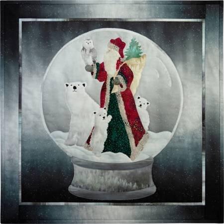 CHRISTMAS AROUND THE GLOBE KIT  20 1/2 x 20 1/2