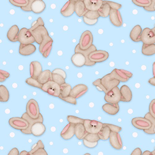 COMFY FLANNEL - BUNNIES
