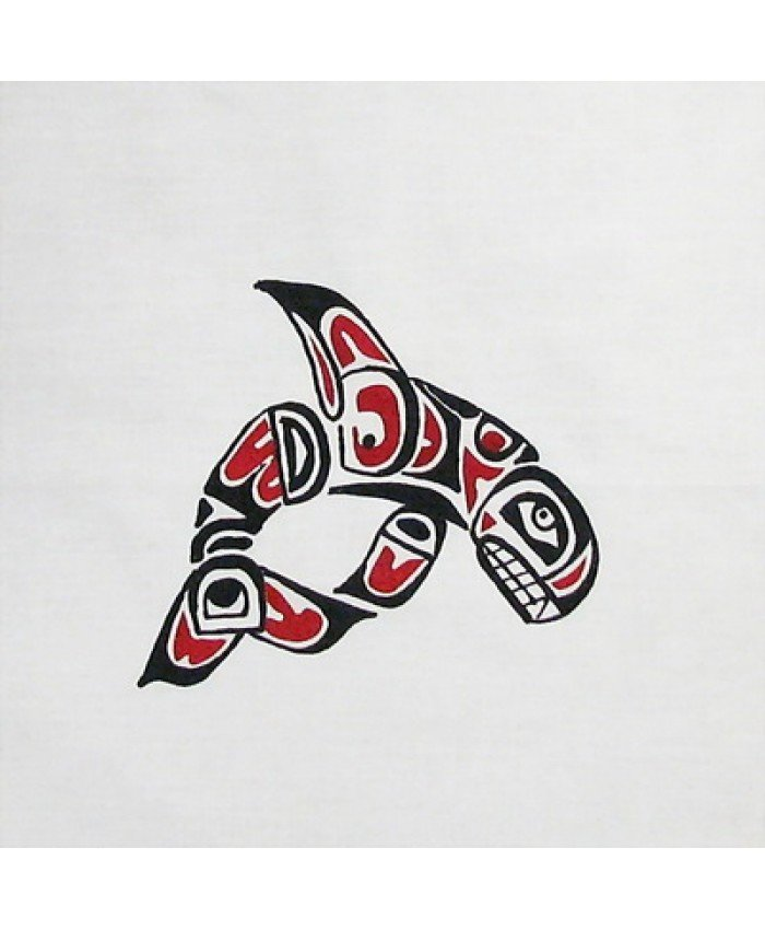 9 NW INDIAN DESIGN - WHALE