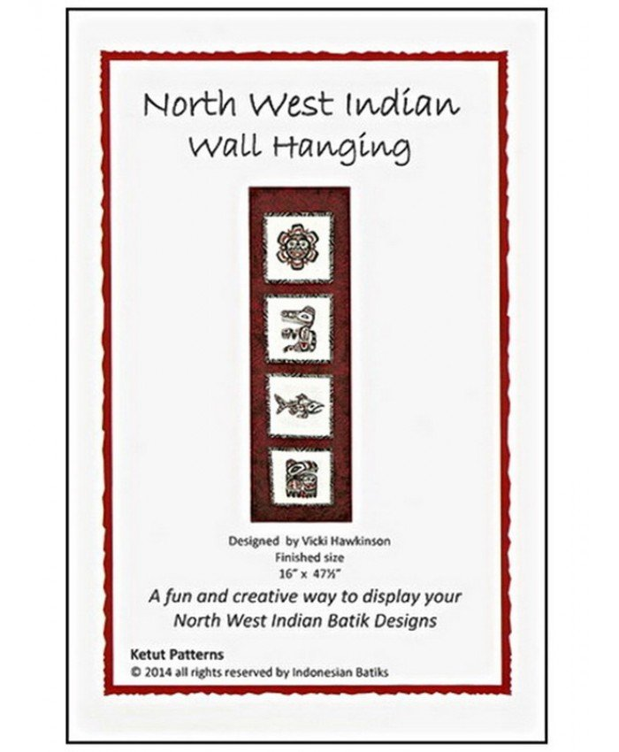NORTH WEST INDIAN WALL HANGING